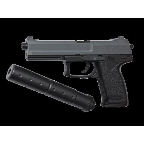 Πιστόλι Airsoft Ελατηρίου, ASG, DL60 SOCOM, black