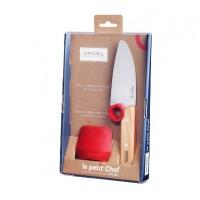 Μαχαίρι παιδικό 10 cm chef & Προστατευτικό Δαχτύλων OPINEL