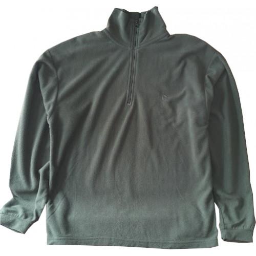 Ζακέτα fleece GAMO half zip πράσινο χακί