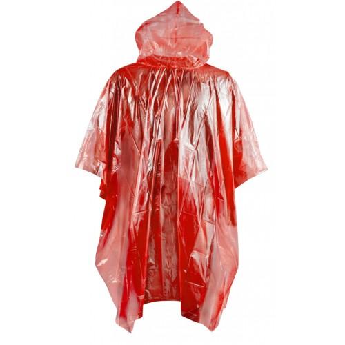 Αδιάβροχο Poncho PE COMPASS ενηλίκων 127 x 203 cm (21389) Κόκκινο