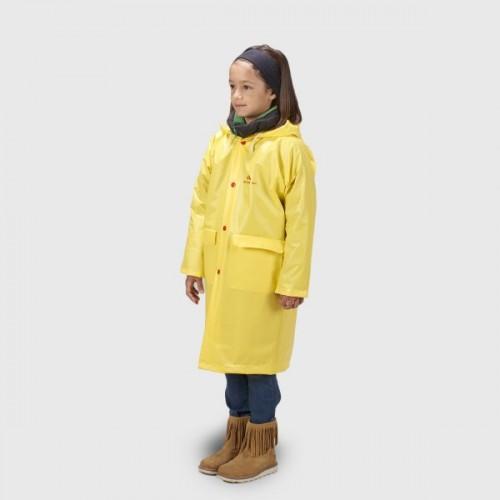 Παιδική αδιάβροχη καπαρντίνα ANORAK Walker® – x long κίτρινη