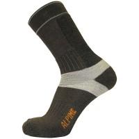 Κάλτσες  Alpine Trekking Alpintec Γκρί-Ανθρακί