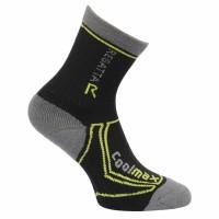 Παιδικές κάλτσες REGATTA 2season Trektrail μαύρο/γκρι