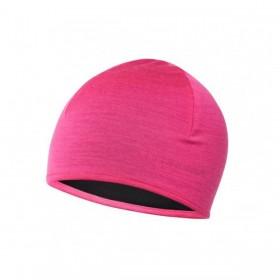 Σκούφος μάλλινος THERMOWAVE Merino Reversible - Ροζ