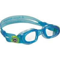 ΓΥΑΛΑΚΙΑ AQUA SPHERE MOBY KID Clear lens Aqua+Lime