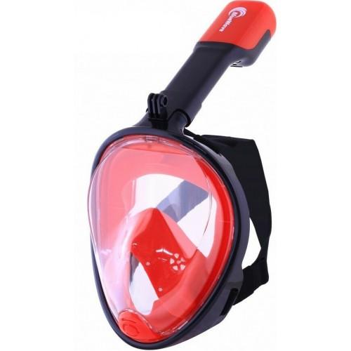 Μάσκα Full Face Bluewave black-red L/XL
